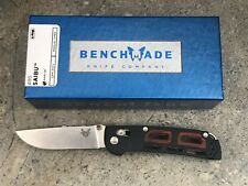 Benchmade 486 Saibu Folding Knife CPM-20CV Drop Point  First Production