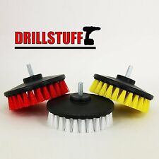 Tile and Grout, Tub, Shower, Sink, Porcelain Drill Powered Cleaning Rotary Brush