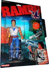 RAMBO The Force of Freedom Fire-Power Rambo Mint on Sealed Card New! MOSC!!