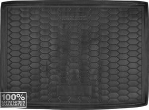 Car Boot Cargo Trunk Rubber Mat Liner Tray for Opel Astra K 5D Hatchback 2015-
