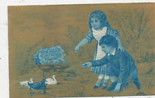 C9452   VICTORIAN TRADE CARD M.L BROWN CO DRY GOODS SPRINGFIELD  MASS