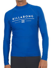 NEW + TAG BILLABONG MENS XL ALL DAY UNITY WET SHIRT RASH VEST LONG SLEEVE ROYAL