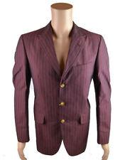 Completi e abiti sartoriali da uomo gessato in cotone