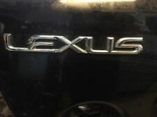 Lexus Badge Logo IS300 Chrome Emblem Trunk Lid 01 02 03 04 05 OEM IS 300 Genuine