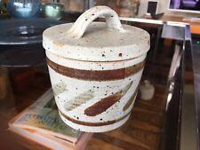 Cley Studio Pottery Lidded Pot