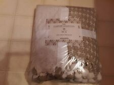 """PCT The Comfort Collection 100% Cotton Two Pack Throw Blankets Set 50"""" x 60"""""""