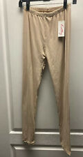 Kathy One Size Nude Beige Leggings Super Buttery Soft NWT
