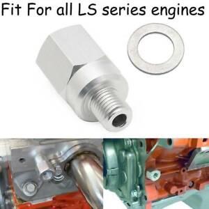"""Swap Gauge M12-1.5 to 3/8"""" Coolant Temperature Sensor For LS Engine LS1 LSX 6.0"""
