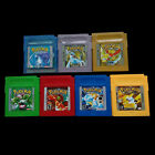 1/7 PCS Hot Game Cards For Nintendo Pokemon GBC Game Boy Color Version