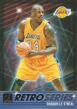 2018-19 Donruss Retro Series #10 Shaquille O'Neal Los Angeles Lakers