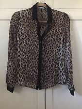 Women's Hot Options Animal Print Shirt