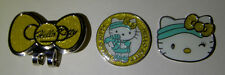 Golf Ball Markers Hatclip HELLO KITTY Sport - Gold