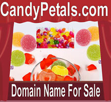 Candy Petals .com Weddings Events Showers Domain Name 4 sale URL Sweets Online