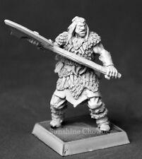 Barbarian Axeman 14620 - Warlord - Reaper MiniaturesD&D Wargames Warrior Axe