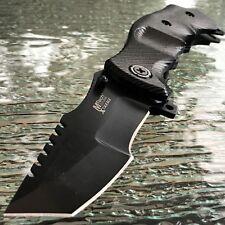 "9"" MTECH G-10 TACTICAL COMBAT SPRING ASSISTED TANTO FOLDING KNIFE Blade Pocket"