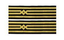 Master Uniform Cuff Braid Merchant Navy Cuff Rank  R1129
