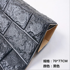 PVC 3D Wall Brick Pattern Wallpaper Stickie for Living Room Bed Room 70X77CM