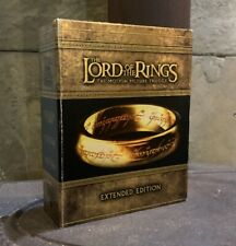 The Lord of the Rings Trilogy: Extended Edition Box Set Blu Ray Booklets 15 Disc