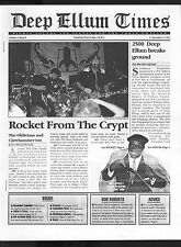 Deep Ellum Times (1995) V1#8 Dec 9 1st Print Rocket From The Crypt Dallas TX FN