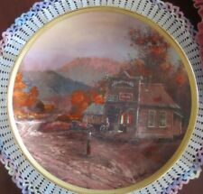 Ted Blaylock THE OLD GENERAL STORE Franklin Mint Limited Edition Porcelain Plate