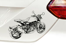 Vitpilen 701 Motorrad Grafik Auto-Motorrad-Aufkleber Sticker