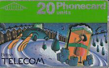 British TELECOM  Phonecard 20 units  029G