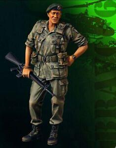 1/35 Resin Figure Model Kit Vietnam War US Soldier Unpainted Unassambled