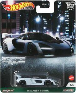 Hot Wheels 1:64 Car Culture 2021 Exotic Envy McLaren Senna