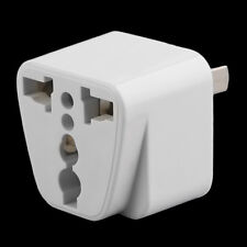 2 pin AC American Power Plug Adapter Travel Converter Australia JR