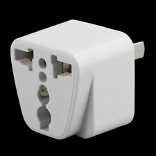 2 pin AC American Power Plug Adapter Travel Converter Australia AU