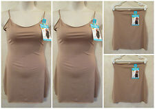 LOT OF 4 SHAPERCISE XL 12-14 Brown Cool Smoothing Light Control Full & Half Slip