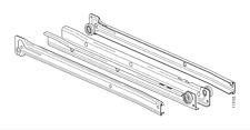 "2x IKEA COMPLETE RAIL / ROLLER SLIDES 13 3/4"" FOR INREDA DRAWER PART # 113104"