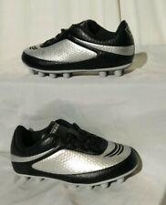 VIZARI INFINITY FG Boys/Toddler Silver Black Soccer Cleats Size 8.5