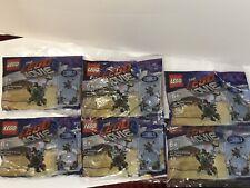 LEGO Movie 2 Mini Master-Building MetalBeard 6 Polybags Bundle