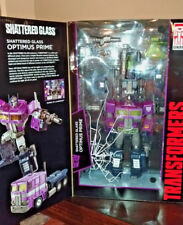Transformers Masterpiece Shattered Glass Optimus Prime New +Free Shipping