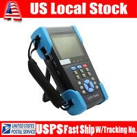 """HVT-2601 3.5"""" TFT LCD CCTV Tester POE Test Camera PTZ Controller 12V DC Output"""