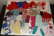Lot of 75+ Vintage Barbie Ken Tutti Clothes Accessories + Midge Honey Blond Doll