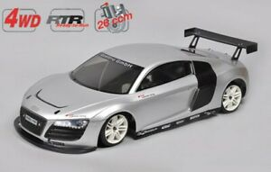 Voiture radiocommandée AUDI R8 CHASSIS 4WD 530 1/5 RTR
