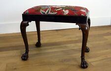 Unusual Edwardian Mahogany Adjustable Piano Dressing Stool ref 577 Elegant Shape