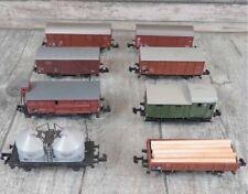 TRIX/ROCO/ARNOLD - SPUR N - 8 teiliges Güterwagenkonvolut - #G29775