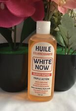 Huile White Now Triple Action Whitening Oil 125ml Fast Action
