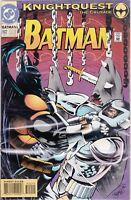 DC COMIC BATMAN #502 KNIGHTQUEST NM UNREAD #84816-11 BR3 ship 2.95