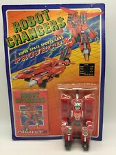 Vintage Robot Changers Project X Space Sports Car Red Transformer Toy MOC 1980's