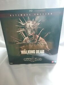Walking DEAD Season 7 Ltd EDITION Blu Ray SPIKE WALKER. New In box
