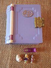 Vintage Bluebird Polly Pocket Sparkle Snowland Storybooks Book Snow Land L1