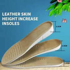Absorbent Ultra Thin Lambskin Leather Insoles with Breathable Activated Carbon