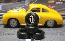 URETHANE SLOT CAR TIRES 2pr PGT-20093LMXD fit Ninco Porsche 356
