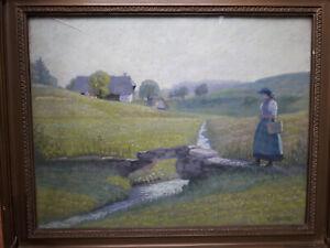Schwarzwald - Pastell von August Gebhard (1880 - 1945)