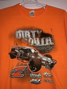 Burt Myers Dirty South Racing Nascar Whelen Modified Series T-Shirt Bowman Gray
