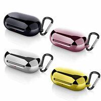 Para Samsung Galaxy Buds Auriculares TPU Cubierta de mosquetón de silicona
